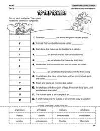 animal worksheets games quizzes for kids science education
