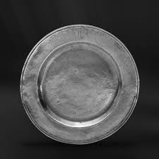 personalized pewter plate pewter plate italian pewter tableware