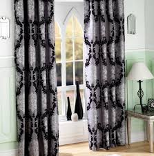 Black Grey And White Curtains Ideas Awesome Design Ideas Of Black And White Curtains Decorating