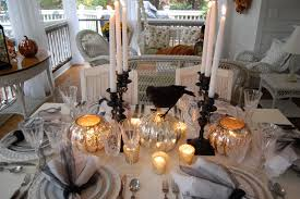 vintage inspired halloween decor elegant halloween tablescape