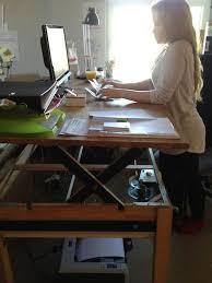 Stand Sit Desk Adjustable Sit Stand Desk 9 Ways To Build Guide Patterns