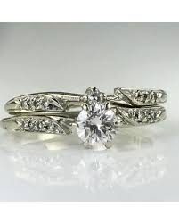vintage wedding band savings on vintage diamond engagement ring vintage wedding