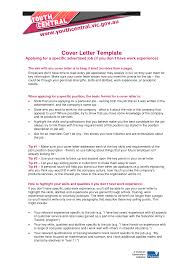 ideas of how to write a cover letter for housekeeping job with no