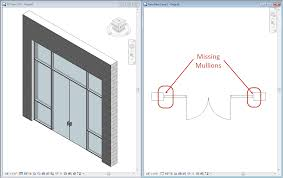 finding missing revit mullions ideate inc