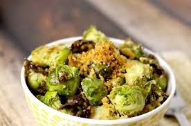brussel sprouts for thanksgiving roasted parmesan and panko brussels sprouts