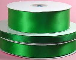 green satin ribbon green satin ribbon etsy