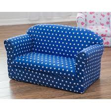 children u0027s blue star two seater sofa