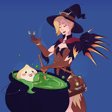 halloween mercy background stacey abidi