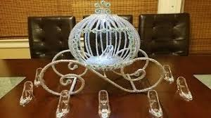 Princess Carriage Centerpiece Splendidideaswithmaria Viyoutube Com