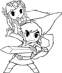 11 images of zelda spirit tracks coloring pages legend of zelda