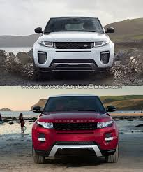jeep range rover 2016 2016 range rover evoque facelift vs 2015 evoque old vs new