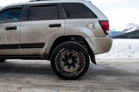muddy jeep cherokee our yearly winter trip to canmore and banff ab our life story