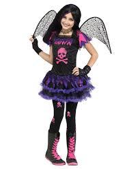Pink Skull Fairy Girls Halloween Costume Girls Costumes