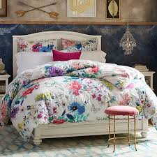 Pb Teen Duvet Bright Bouquet Sham Pbteen