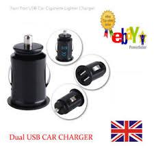 porta mini auto uk mini dual port usb 12v universal car cigarette lighter