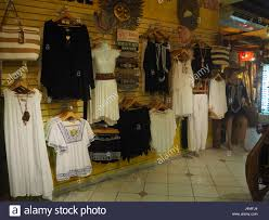 womens clothes shop in mexico stock photo royalty free image