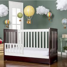 babyletto modo 3 in 1 convertible crib dream on me milano 5 in 1 convertible crib gray and white with