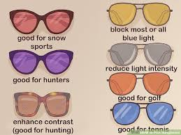 glasses that block fluorescent lights the best way to pick sunglasses wikihow