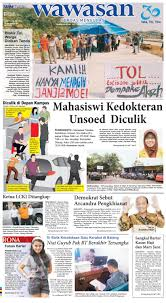 wawasan 08 september 2016 by koran pagi wawasan issuu