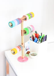 super easy and cool washi tape crafts homestylediary com easy washi tape holder crafthubs