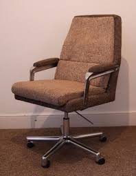 super comfy retro mid century 70s swivel u0026 tilt office chair