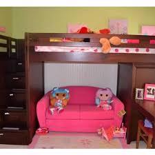 Cherry Bunk Bed Best League Cherry Loft Bunk Bed W Chest And Desk