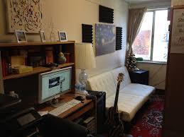 Dorm Desk Bookshelf Minimalist Dorm Decorating Ideas Along With Compact Features And