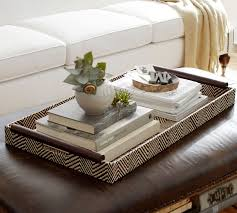 Large Serving Trays For Ottomans Everything Looks Better With A Tray Driven Decor In