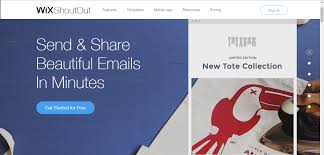 wix shoutout making email marketing easier