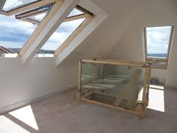 Attic Designs Attic Designs Space Saver Step Conversion With Glass Balustrade