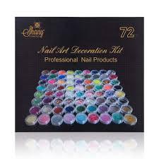 diy 3d nail art set 72 assorted designs jewelries powder