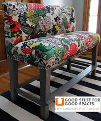 Custom Upholstered Dining Chairs Custom Upholstered Counter Height Bench 52
