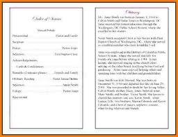 funeral program ideas delighted exles of funeral programs photos resume ideas