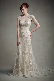 colored wedding dresses 30 chagne wedding dresses we re obsessed with bridalguide