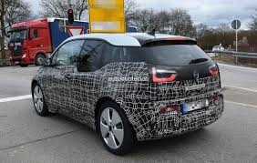 2018 bmw i3 facelift spotted in german traffic i3s electric
