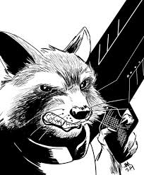daily sketch rocket raccoon u2014 jason muhr freelance graphic
