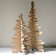 cardboard christmas tree cardboard christmas tree eco laser cut decoration