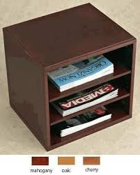Desk Organizer Shelves Dh625 Woodworx Optional Shelves For Cube Desktop Organizer
