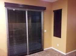 Ideas For Sliding Glass Doors window treatment ideas for doors 3 blind mice