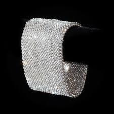 mesh bracelet swarovski images Michael swarovski crystal mesh bracelet michael schmidt studios jpg