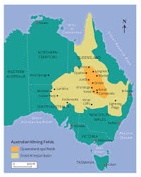 Australian Map Of The World by Splendor In The Outback A Visit To Australia U0027s Opal Fields Gems