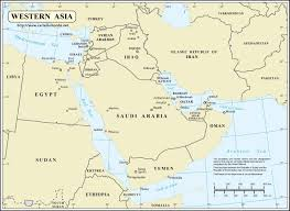 Map Quiz Of Asia by Map Of Western Asia Roundtripticket Me