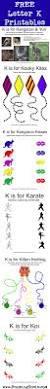 letter k free alphabet worksheets for kids roaming rosie