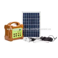 Solar Home Lighting System - china solar power generator system from shenzhen manufacturer