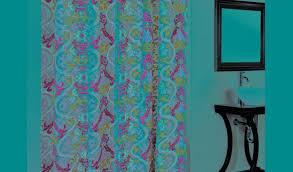Mint Shower Curtain Surprising Mint Green Shower Curtain Fabric Gallery Best Idea