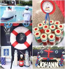 nautical party supplies nautical themed 4th birthday party karaspartyideas sailor