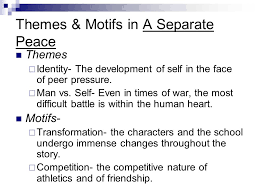 story themes about friendship an analysis of the main themes in a separate peace by john knowles