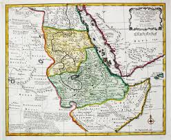 Map Of East Africa by Antique Map Of East Africa Yemen Virtual Rare Map Fair 1010499