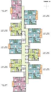 and bedroom apartments in canton uptown view floor plan idolza sq ft bhk 3t apartment for sale in incor group one city tower b typical cluster