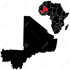 Mali Africa Map by Vector Mali Map On Africa Royalty Free Cliparts Vectors And